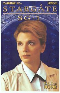 Stargate SG-1 Fall of Rome #2B Photo Variant> Avatar 2004> VF/NM> Bg'd&Brd'd  b