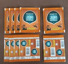 Road To Russia, WC, 2018, Panini, 12 Unopened Packs With Stickers