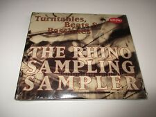 Plattenspieler Beats And Basslines The Rhino Sampling Sampler CD Promo nur 2cds