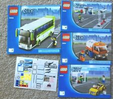 Lego Parts 8404 Books 1 2 4 5 Stickers 100 parts 1 minifig Unfinished project