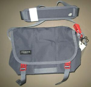 TIMBUK2~XS Granite / Flame Flight Classic Messenger Bag