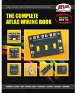 The Complete Atlas Wiring Book, for Model Railroading,  newest 2017 version, #12
