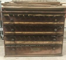 McCourt 4 Drawer Apothecary Medical Label Cabinet With Labels Saginaw, Michigan