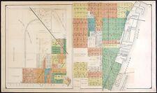 1916 Atlas Bay County plat map Michigan old Genealogy history Land Dvd P147