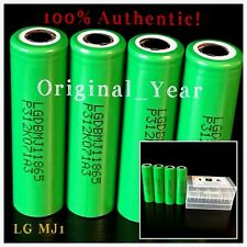 4 LG MJ1 18650 3500mAh 10A High Drain Rechargeable Battery Free Case