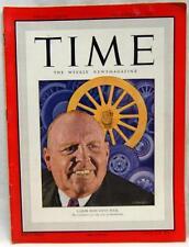 TIME MAGAZINE 29 NOVEMBER 1948 LABOR BOSS DAVE BECK  - VINTAGE NEWS & EVENTS