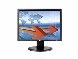 "LG 19"" LED VGA FLATRON PC COMPUTER MONITOR DISPLAY N1910 VMWARE PCOIP READY"