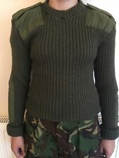 2  british army olive green jersey/jumper 100cm marines commando  paintballing
