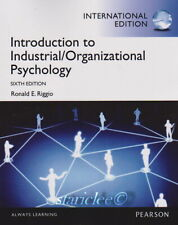 NEW 3 Days US Introduction to Industrial Organizational Psychology 6E Riggio 6th