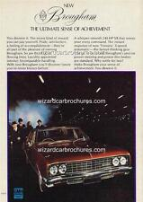 1970 HOLDEN HG BROUGHAM A3 POSTER AD SALES BROCHURE ADVERTISEMENT ADVERT