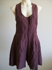 LOVELY  DRESS, PLAYSUIT BY  CUE  SIZE 12,  EX CONDITION. BODICE LINED. POCKETS.