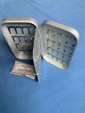 Richard Wheatley Large Fly Box Aluminium 6in Clip 5 And Small 7 Grilse Salmon