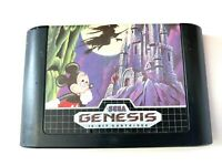 Castle Of Illusion  Mickey Mouse Sega Genesis Game Only Tested WORKING Authentic