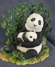 Cradled in Love Panda Figurine Elfie Harris Danbury Mint