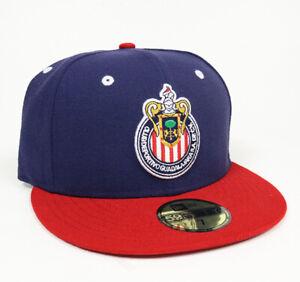 New Era Club Guadalajara Chivas 59FIFTY Fitted Hat Gorra Cerrada Red/Navy