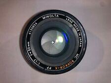 Minolta MC Rokkor-X PF 50mm F1.7 Prime Lens