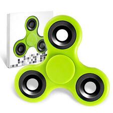 Spinner Fidget Jouet Tri Fidget Hand Spinner Pour Adultes Enfant, couleur VERT