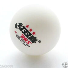 1 Boxes (6 Pcs) 3 Stars DHS 40 MM Olympic Table Tennis White Ping Pong Balls