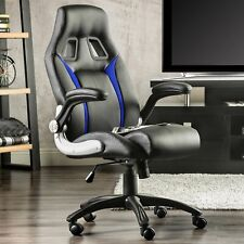 Homcom Racing Swivel Office Chair - Black
