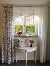 Landhausschal* Madelaine,geblümt rose,Vorhänge Romantik,Gardinenschal ShabbyChic
