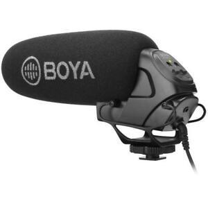 Boya BY-BM3031 super cardioid shotgun Microphone DSLR