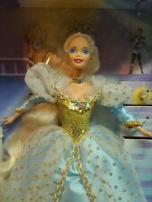 New listing Blue Gold Blonde Barbie as Cinderella Collector's Edition Doll Nrfb 16900