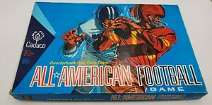 Vintage 1965 Cadaco All American Football Game 100% Complete