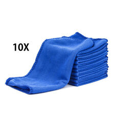 10X Microfibre Cleaning Auto Car Detailing Soft Cloths Wash Towel Duster 25*25cm