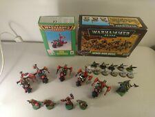 GW Warhammer 40k Ork Warbikes, groots, Blood Axe Kommandos Metal OOP