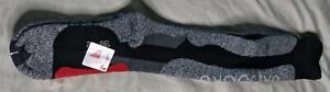 Fitself Unisex Over The Calf Professional Winter Ski Socks TM8 Grey One Size NWT