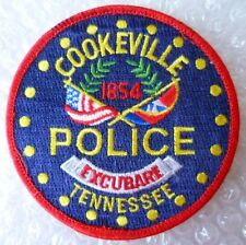 Patch- Cookeville Excubare Tennessee US Police Patch (NEW*)