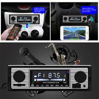 Car MP3 Player Bluetooth Stereo In-dash Head Unit USB/SD/AUX & Remote Control
