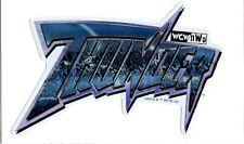 Vintage 1999 WCW NWO THUNDER Wrestling Game Vending Machine Prism Sticker