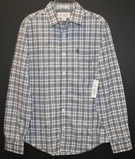 Penguin by Munsingwear Mens Black Checks Slim Button-Front Shirt NWT $89 XXL 2XL