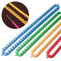 Creative Knit Hobby Knitting Loom Needle Plastic Weaving Tool Hook 1 Set Tool