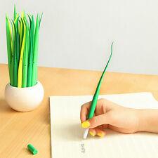 1pc Creative Cute Grass Roller Ball Pen Gel Pens 0.38mm Black Ink Stationery