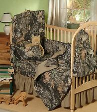 MOSSY OAK CAMOUFLAGE BABY CRIB BEDDING FITTED SHEET - CAMO