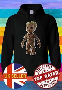 Baby Groot Guardians Of The Galaxy Hoodie Sweatshirt Jumper Men Women Unisex 724