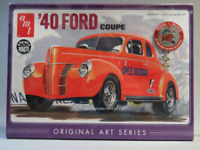 AMT 730 '40 FORD COUPE MODEL CAR KIT plastic 1:25 Scale orig art series 730 NEW