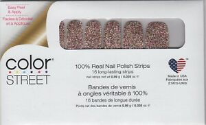 CS Nail Color Strips Tokyo Lights 100% Nail Polish Strips - Made in the USA!
