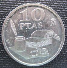 manueduc  ESPAÑA  10 pesetas 1995 QUEVEDO  DIRECTAMENTE DE LA BOLSA muy rara