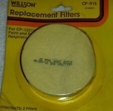 New Pair of Willson Niosh/Msha Cp-R15 Replacement Filters, Tc-23C-54