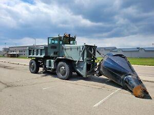 1987 Oshkosh WT2206 Snowplow Truck 3406 Caterpillar 10k miles roll-over plow