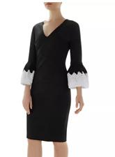 Ted Baker Rastrel Bell Sleeve Dress in Black NWT Ted Baler Size 0