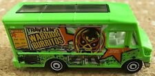 Matchbox Truck 'Express Delivery Travelin Warrior Burritos' Green Van