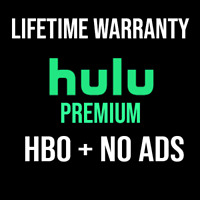 HULU PREMIUM Account ✅ HBO ✅ No Ads ✅ LIFETIME WARRANTY  l   QUICK DELIVERY
