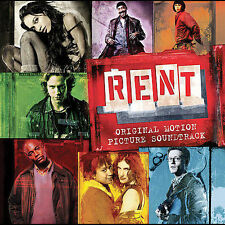 RENT [Original Motion Picture Soundtrack] by Jonathan Larson (CD, Sep-2005, 2 Di