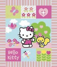 Sanrio Hello Kitty Patch Wallhanging by Springs Creative bty PRICE REDUCED
