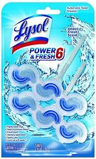 LYSOL Power - Fresh 6 Automatic Toilet Bowl Cleaner, Atlantic Fresh 2 ea