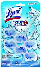 LYSOL Power - Fresh 6 Automatic Toilet Bowl Cleaner, Atlantic Fresh 2 ea